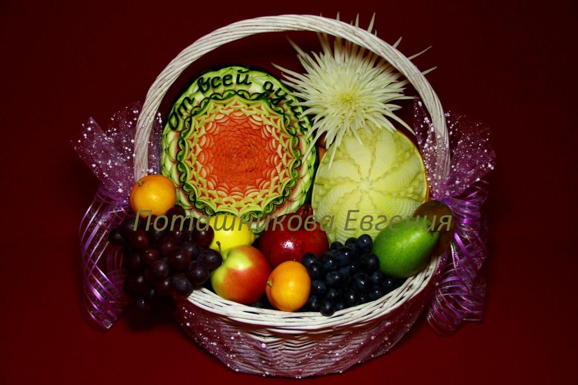 Поздравления фруктовые 14